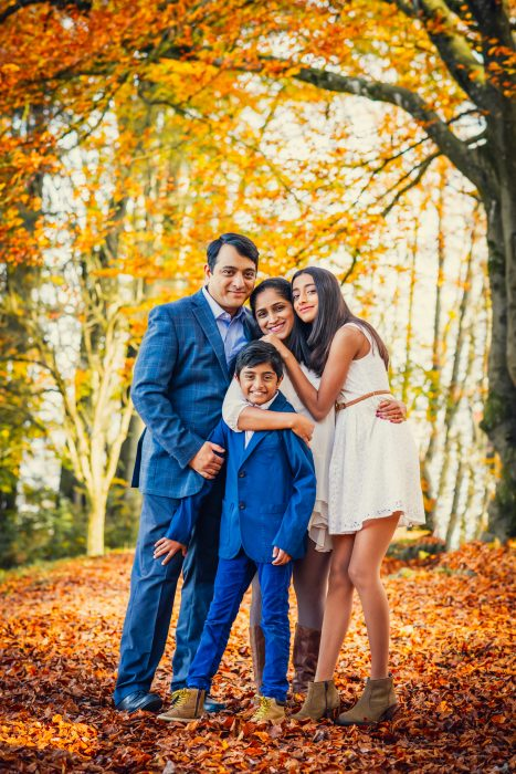 Familienfotoshooting im Herbst. Familie Galgali. Foto 4