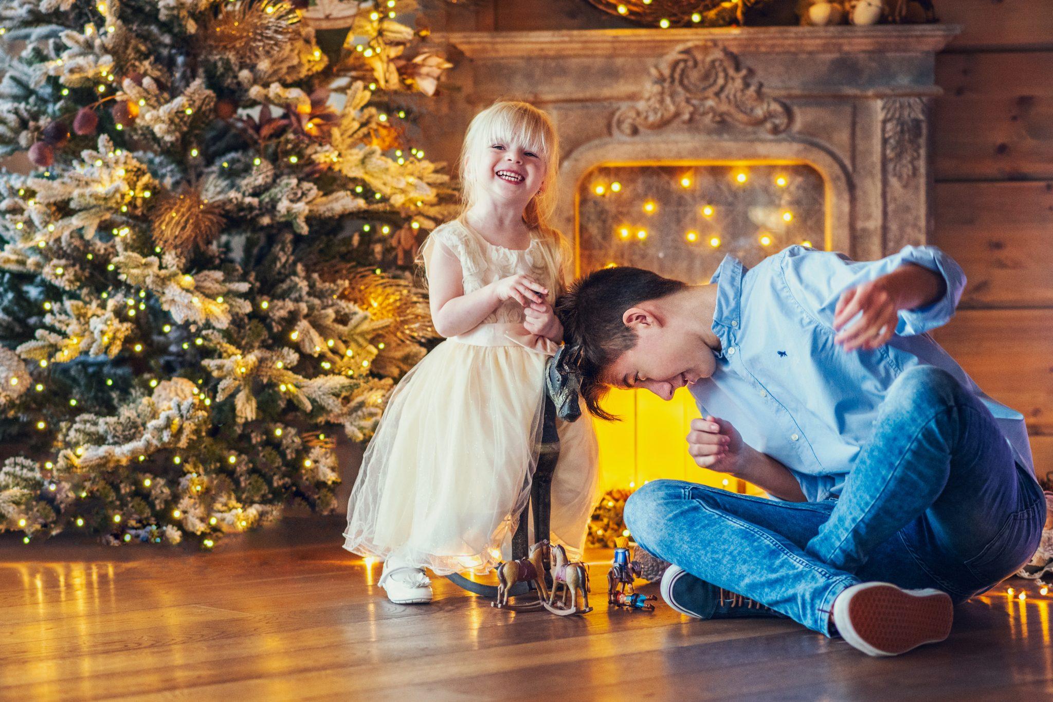 Weihnachtsfotoshootig für die Familie Schwarz. Foto 5