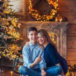 Weihnachtsfotoshootig für die Familie Schwarz. Foto 3