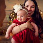 Familienporträt Weihnachtsfotos