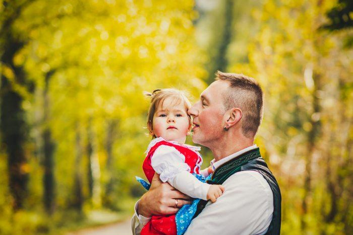 Ein Familienfotoshooting im Herbst. Foto 6