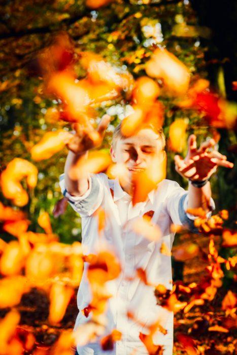 Herbstfotoshooting. Foto 2