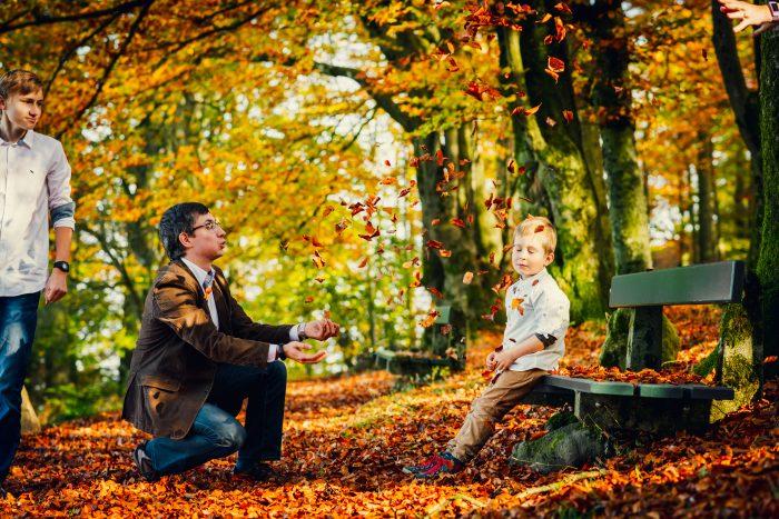 Herbstfotoshooting. Foto 3