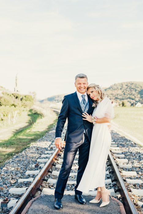 Anna und Christian - ein kleines Teilchen der Hochzeitsfotos. Foto 5