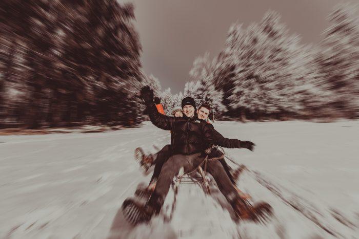 Winteraufnahmen. Foto 1
