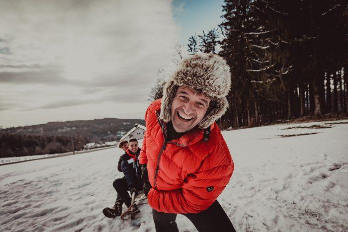 Winteraufnahmen. Foto 3