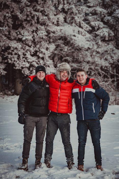 Winteraufnahmen. Foto 11