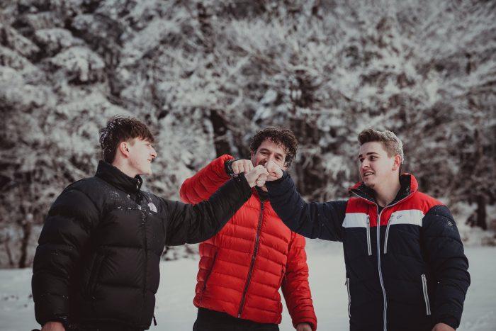 Winteraufnahmen. Foto 14