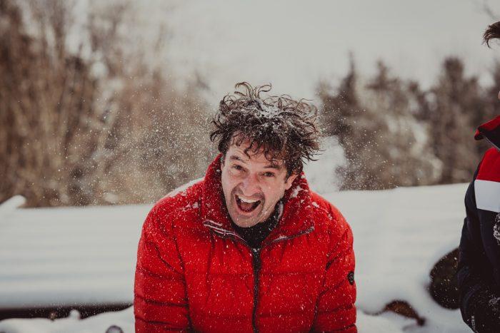 Winteraufnahmen. Foto 17
